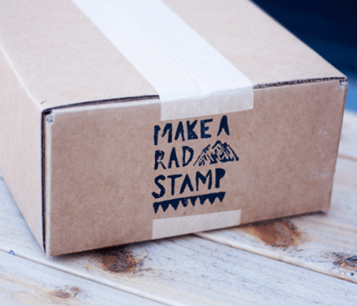 "This is Ground creator Mike Macadaan chats with us about his Make a Rad Stamp DIY kit and how he named his brand. How did you name ""This is Ground?"" The name ""This is Ground"" comes from three places (1) Lyrics from Bowie's ""Major Tom"" (2) A long time ago I landed blimps at an airport and I would always start my communication with the pilot through a VHF radio by saying ""560 alpha-bravo, this is ground.."" (3) When I started creating physical products it was the first time I could physically feel something I created since the rest of my work was all digital - it was a grounding experience and that's what sealed it. Our site features your DIY Stamp Kit. What's the raddest stamp you've made?  The raddest stamp I've made was the great white shark profile a la Jaws — it was raw, fierce and a big contrast from the fluffy unicorn stamps I remember as a child. I used this stamp to make wrapping paper and even splattered some red paint on for an extra punch. It was fun and festive in a much different way for sure.  This is Ground is based in Los Angeles and is a designer of leather goods to compliment your cool life. Be sure to check out his stamp kit and the awesome cord tacos. Check out the stamp video below."