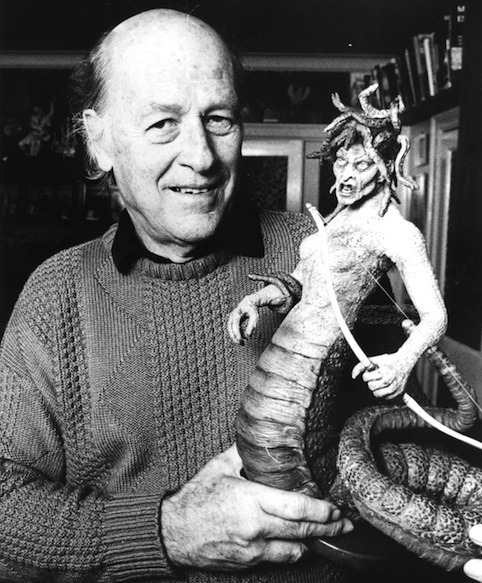 retrogasm:  Harryhausen, Medusa from Clash of the Titans
