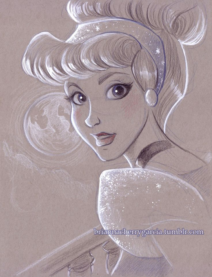 cinderella drawings tumblr - photo #33