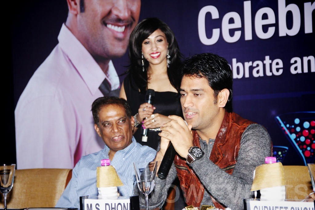 Orient Fans Launch By Mahendra Singh Dhoni In New Delhi