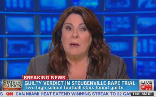 "theatlantic:  CNN's Not the Only One Peddling Sympathy for the Steubenville Rapists  The segment, in general, didn't do CNN any favors. While they're not necessarily rooting for the rapists, even the slightest bit of sympathy didn't go over well, especially once it was lumped together with all of the outrageously offensive reactions of true Steubenville rapist sympathizers. Sarcastic example tweet: ""The Steubenville story is all too familiar. Be responsible for your actions ladies before your drunken decisions ruin innocent lives."" Sincere example tweet: ""So you got drunk at a party and two people take advantage of you,that's not rape you're just a loose drunk slut."" Of course, cases like the Steubenville rape trial can be polarizing, and we've long known how distorted some notions of justice can be.  Read more. [Image: CNN]"