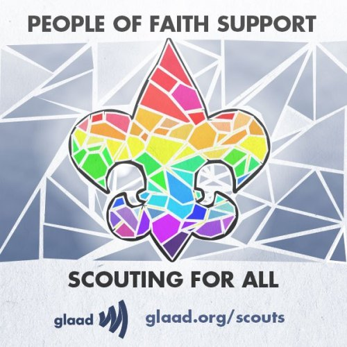 glaad:  Stand up and show that you want the Boy Scouts to end their ban on gay scouts and leaders! People of faith are standing up for an end to the ban. Read more…
