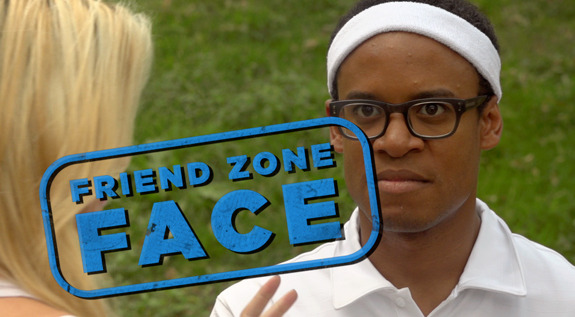 "Watch the new hit sketch comedy video from ""Guy Code,"" ""Friend Zone Face"""