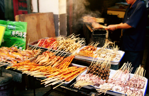 street food in Shandong, China