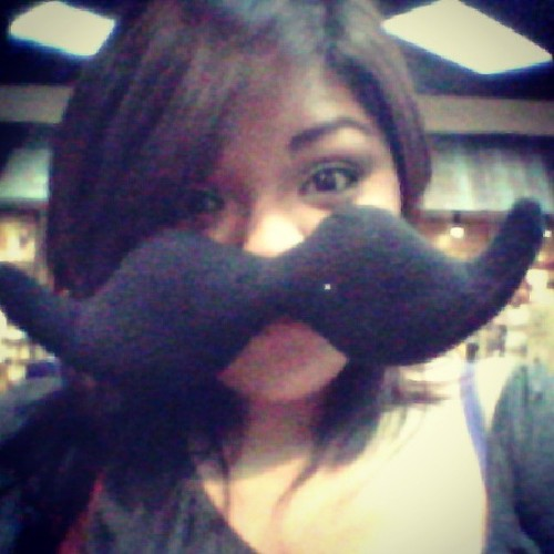 I'm so sexy it's unbelievable #me #mustache #damngirllookatthatstash