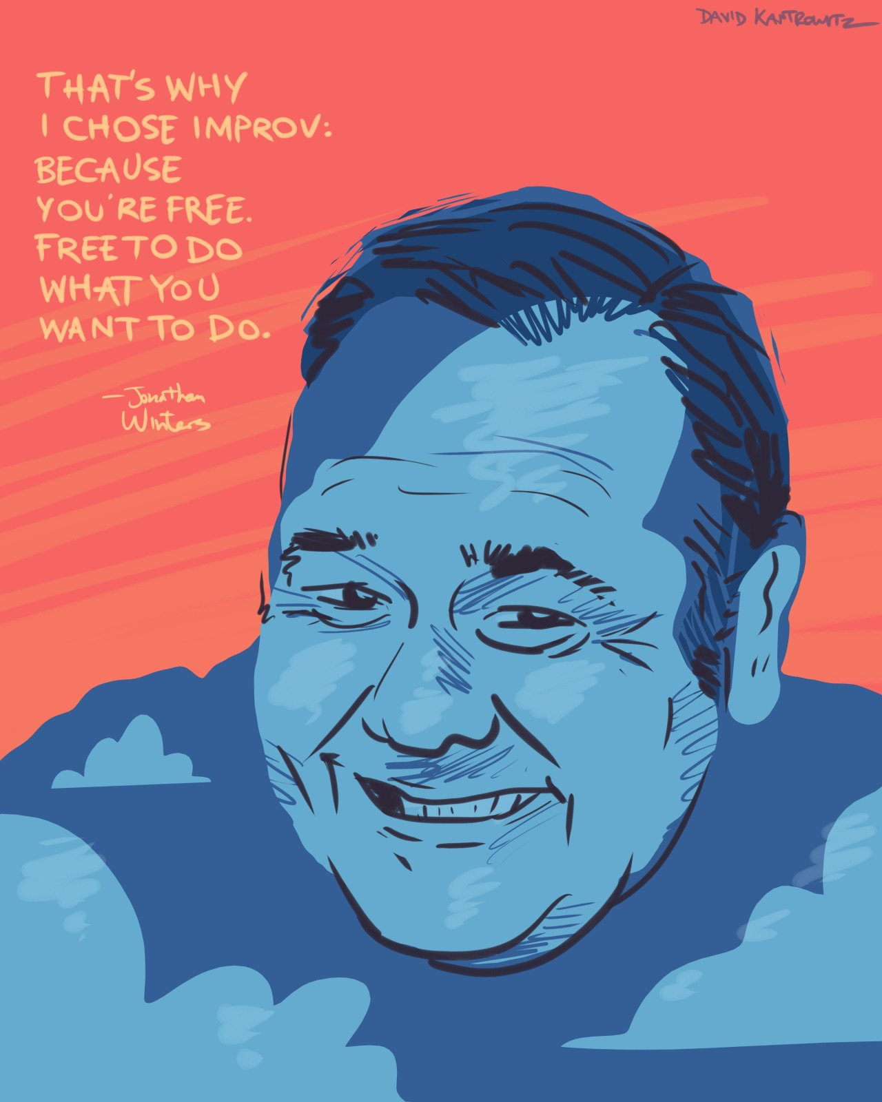 - Jonathan Winters [prints available]