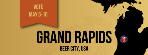somethingtodogr:  VOTE for GRAND RAPIDS as Beer City, USA!! https://polldaddy.com/poll/7078031/