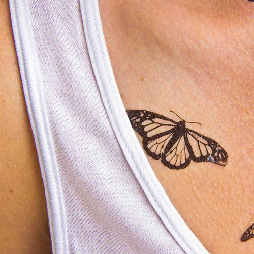 Butterfly temporary tattoo. Buy here >>>... insect;animal;butterfly;temporary