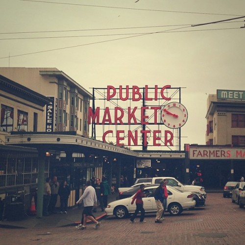 atlandsend:  Seattle. #pikeplace #market #travel #seattle #SEA
