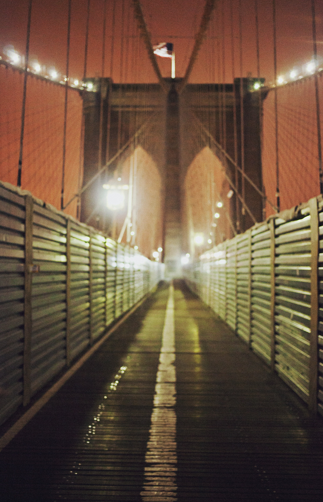Late at Night on the Bridge. (by Moey Hoque)(Instagram)