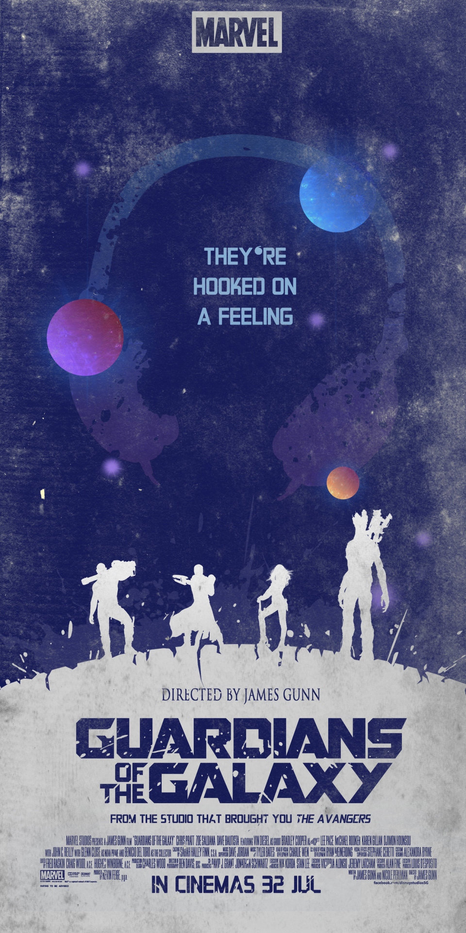 Guardians of the Galaxy Poster by ChipsEss0r