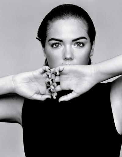 "Kate Upton for Vogue UK [Jan 2013]On Being a Role Model: ""I never imagined that I would be in a position to be a role model. I just focused on being healthy and being the best that I could be. I'm happy to be seen as a good example. If I can help and influence girls who are going through body-image issues then I think that's amazing."""