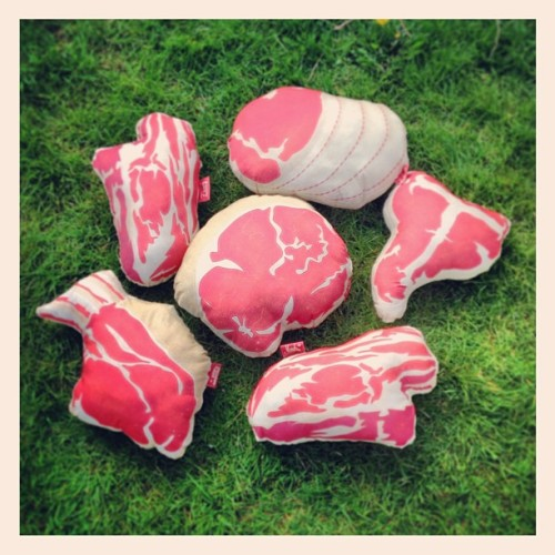 #MeatyPillows in a field of their own:)