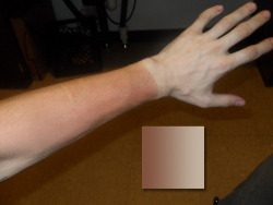 thejogging:  Tan Line Gradient Study, 2013 Research ←