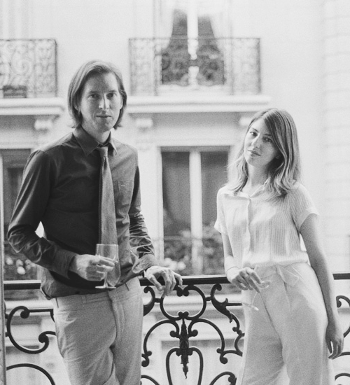 Wes Anderson and Sofia Coppola by Melodie McDaniel