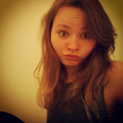 I can not take a picture so I make a face. Ima loving my short hair aswell, I may never let it grow back!