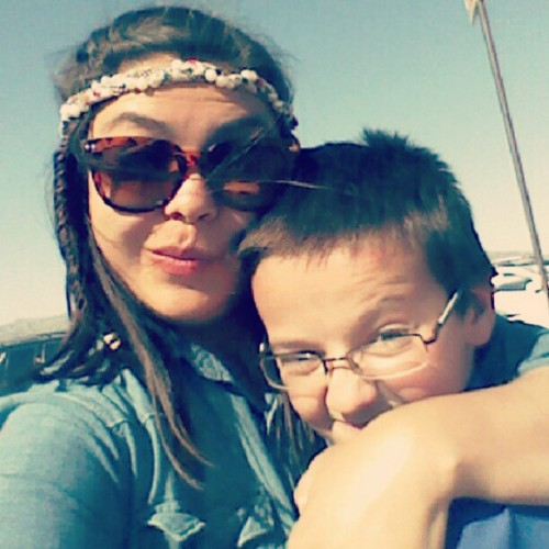 Baby brother! (at Arizona Renaissance Festival)