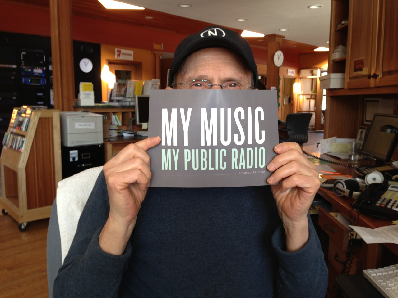 Morning Show host Scott Hall loves Public Radio Music!  publicradiomusicmonth.org