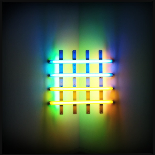 robot-heart:  (via Dan Flavin: Untitled 4. | Flickr - Photo Sharing!)