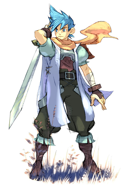 Ryu from breath of Fire 3