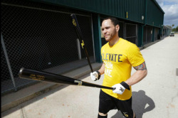 paddleyourowncano:  Russell Martin at Spring Training.   MIss you, Russell.