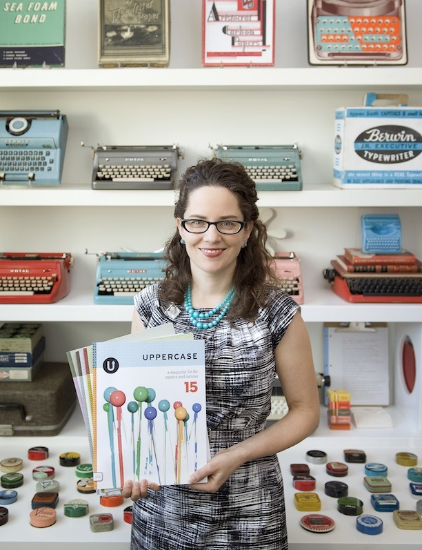 Janine Vangool of Uppercase Magazine