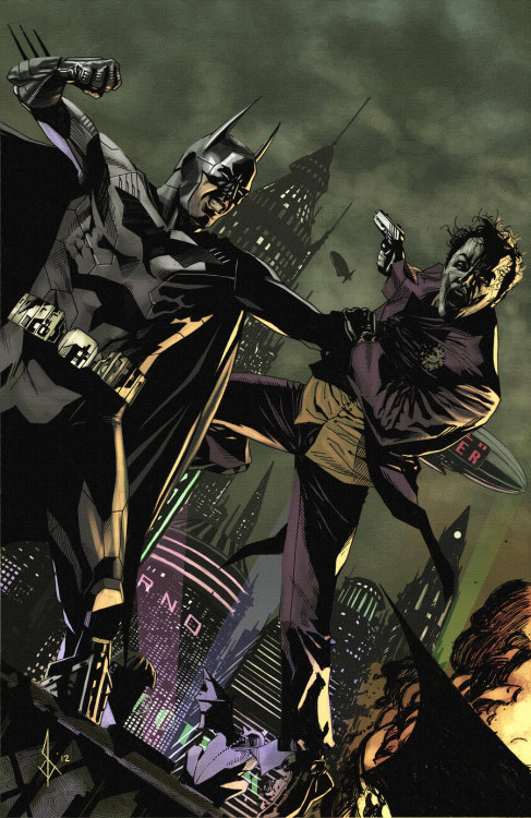 lulubonanza:  Batman VS Joker by ~benttibisson