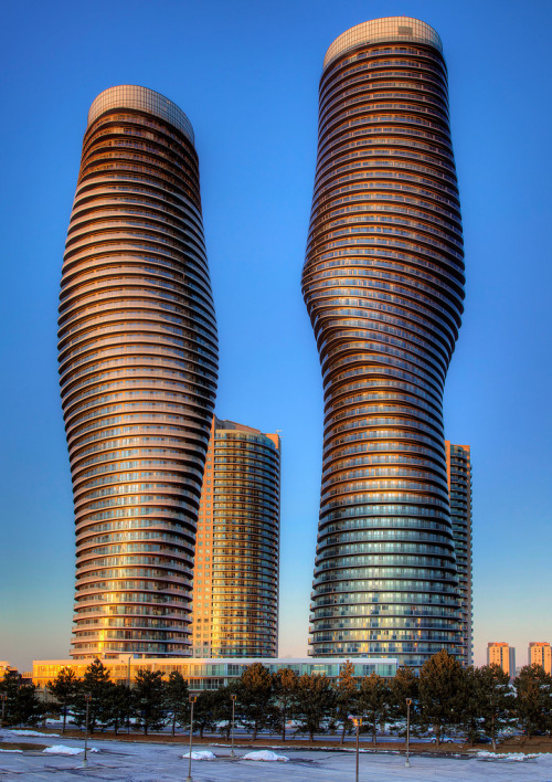travelingcolors:  Absolute Towers, Mississauga | Canada (by roken-roliko)