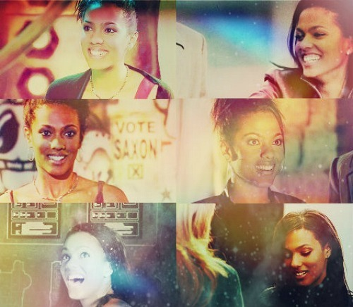 Martha Jones + Happy. (requested by chocolateviola )