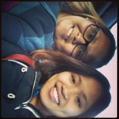 In the car with @JayneREVIE her brother, and a potential lover. Lol <3