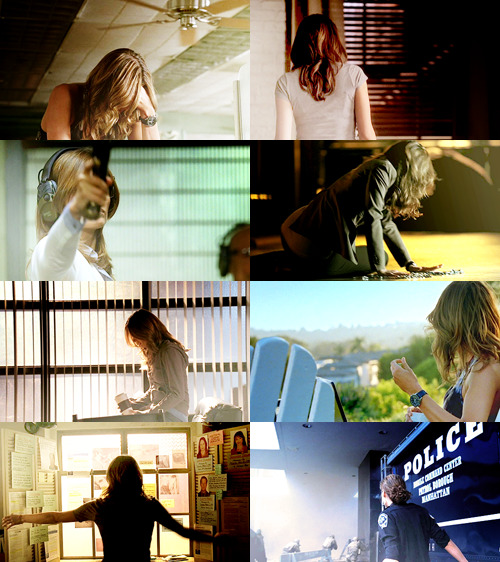 Screencap meme | Kate Beckett and faceless