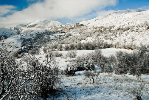 ysvoice:  | ♕ |  Apennines winter in Abruzzo  | by © Rosarian49