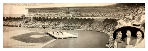 Gotch-Hackenschmidt World's Championship Wrestling Match Panoramic Comiskey Park - Chicago, Illinois - Sept. 4, 1911