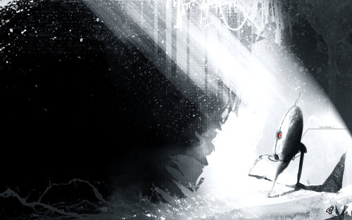 pxlbyte:  Beautifully Dark Gaming Illustrations