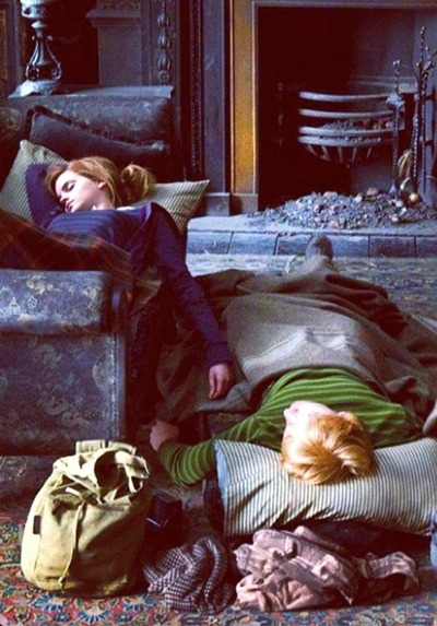 icelumos963:  Going To Bed Now, I Wish I Had My Own Ron Who Would Do The Same………
