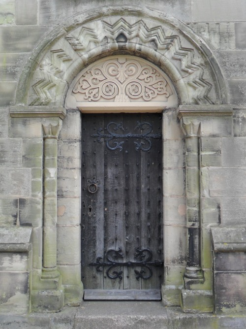 Stone carved arched doorway, Clock Tower, Lichfield, Staffordshire, England All Original Photography by http://vwcampervan-aldridge.tumblr.com