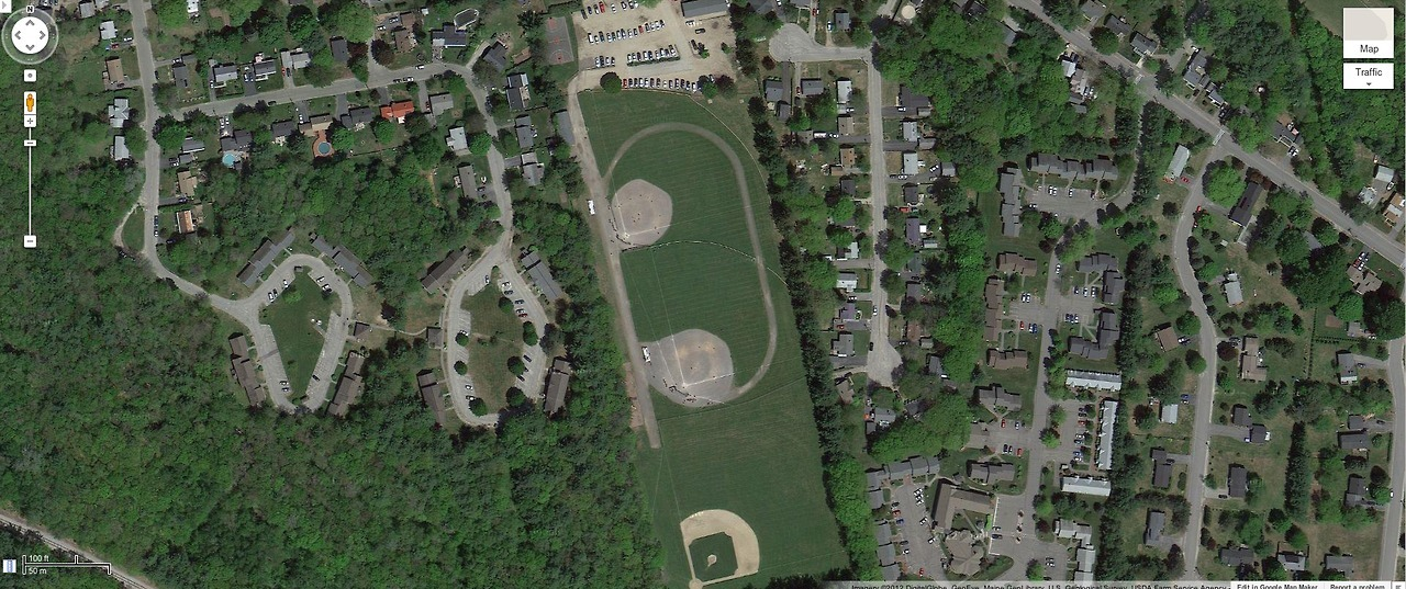 Edwards Field. Burnswick, Maine.