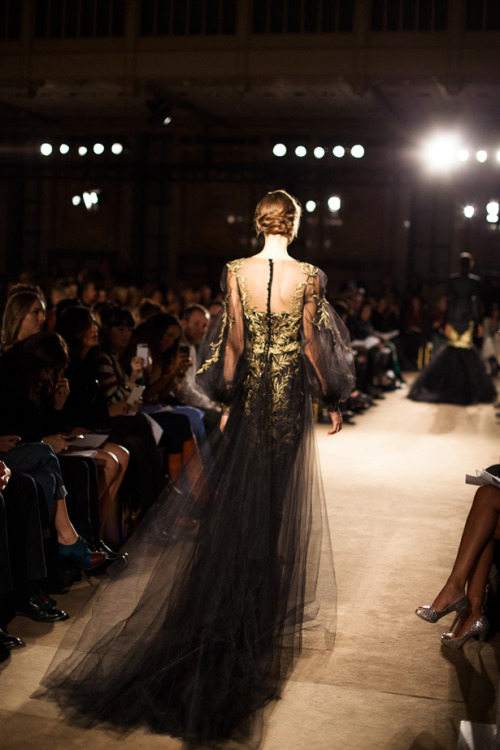 Marchesa! annstreetstudio:  Romance on the runway… Marchesa, Fall/Winter 2013.