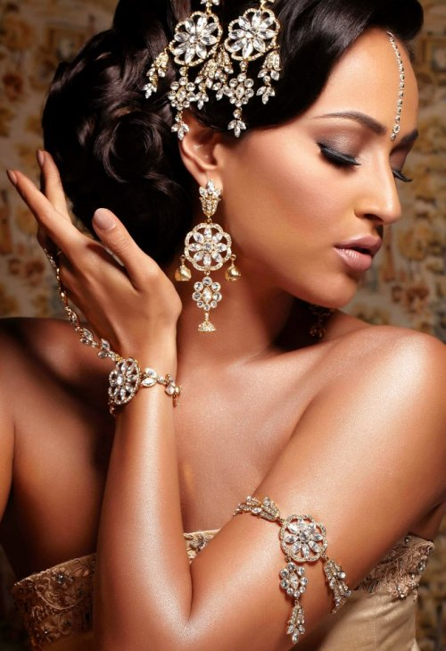 beautifulindianbrides:  Jewellery by:Jazzy Bindi