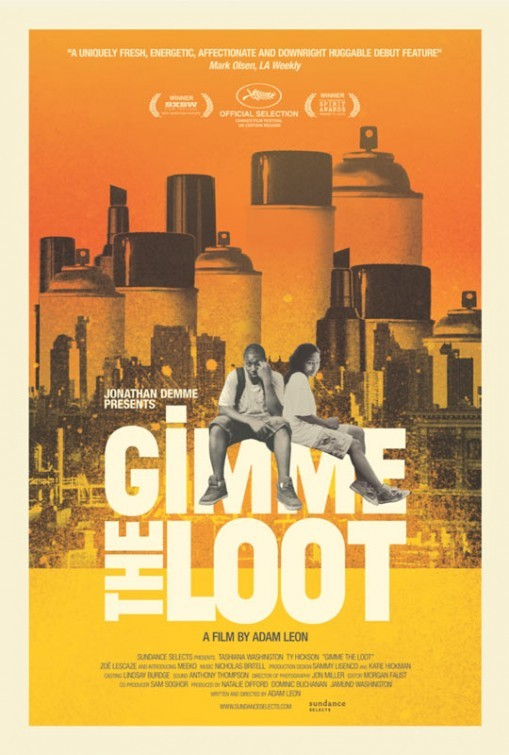 Gimme the Loot, winner of the Grand Jury Prize for Narrative Feature at SXSW 2012, opens this Friday at IFC in NYC! Check your local listings here.