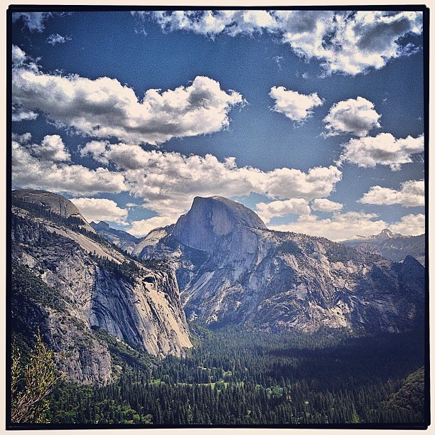 Half Dome (at Columbia Rock)