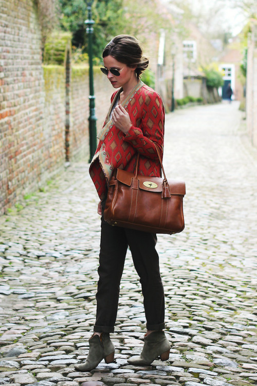 lookbookdotnu:  Jacquard jacket (by Christine R.)