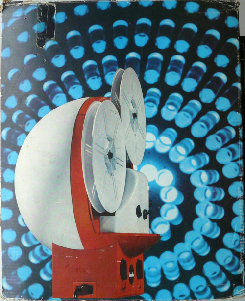 Super8 projector Tondo CT1designed by G. Lurani Cernuschi for Polistil Italy 1970 lostin70s