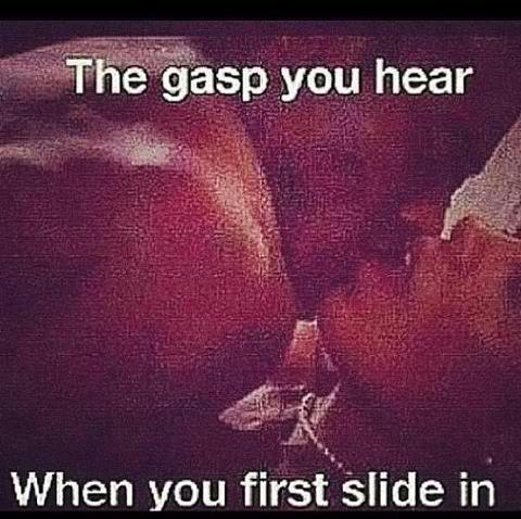 heartlesschrissy15:  the gasp you hear when you first slide in - Google Search on We Heart It - http://weheartit.com/entry/61819977/via/HeartlessChrissy   Hearted from: http://www.google.com/search?q=the+gasp+you+hear+when+you+first+slide+in&hl=en&source=lnms&tbm=isch&sa=X&ei=FoaXUeT2E4PI9QTDqICwDg&sqi=2&ved=0CAcQ_AUoAQ&biw=1092&bih=533#imgrc=WjnVcQJ4wNhM6M%3A%3BViiv57fGQCAPKM%3Bhttp%253A%252F%252Fp.twimg.com%252FA8sE0_5CUAAgjEO.jpg%253Alarge%3Bhttp%253A%252F%252Ftwicsy.com%252Fi%252FzukSRc%3B480%3B478