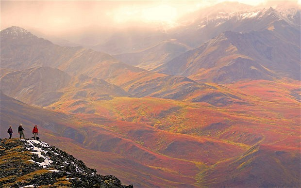 bjornnormann:  Yukon, Canada. Photo from www.telegraph.co.uk.