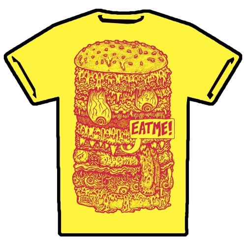 xahhx:  Eat Me http://porkmagazine.bigcartel.com/category/t-shirts  THIS IS THE PERFECT SUMMER BBQ T-SHIRT, BESIDES OUR OTHER ONES. AT THE PORK SHOP.