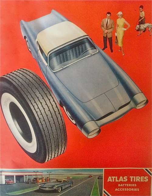 Atlas tires, 1955