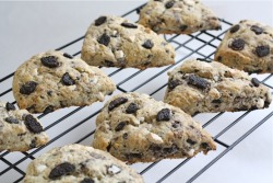 Cookies 'n Cream Scones Recipe - Featured on Food2Fork.com