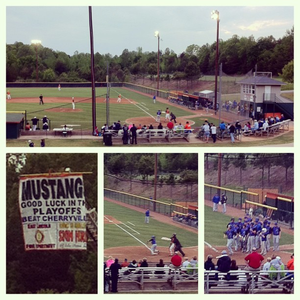 Cherryville High School vs. East Lincoln High School #baseball ⚾💙