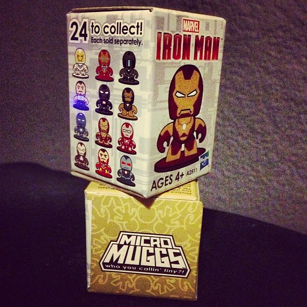 Tiny blind box Iron Man mighty muggs!! #marvel #hasbro #mightymuggs #ironman